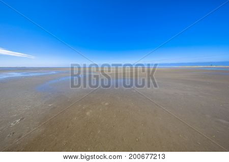 Emptiness Of The Wadden Sea Mudflats