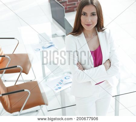 woman economist in the office