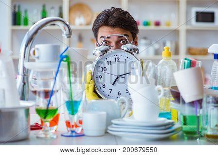 Man failing to meet the deadlines of housekeeping job