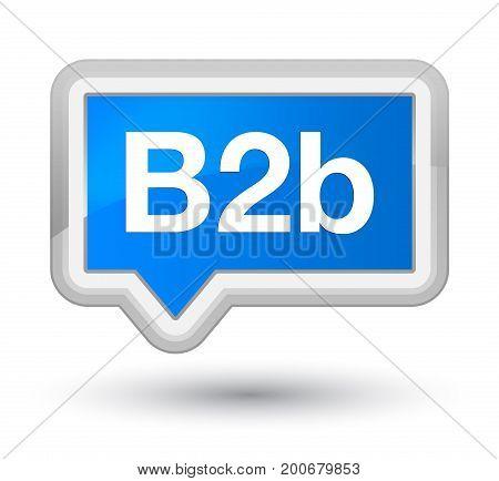 B2B Prime Cyan Blue Banner Button