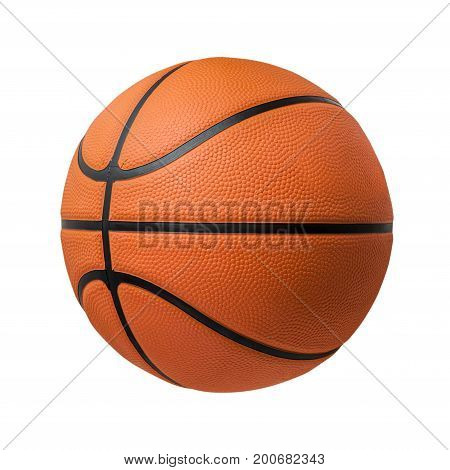 Basketball ball over white background. Basketball isolated. orange color Basketball. File contains a clipping path. Basketball ball over white background. Basketball isolated. orange color Basketball. single Basketball. Basketball closeup image. beautiful