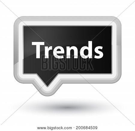 Trends Prime Black Banner Button