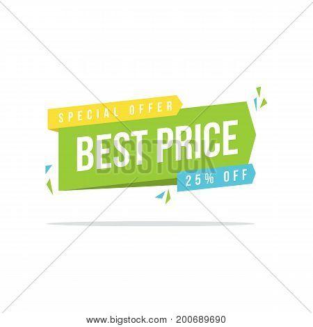 Price label big sale price label vector illustration