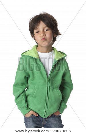 Cool little boy