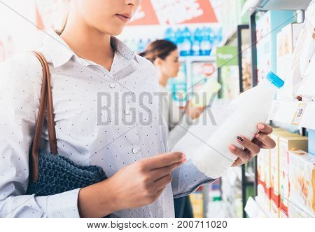 Women Shopping At The Supermarket