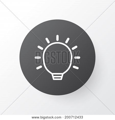 Premium Quality Isolated Great Glimpse Element In Trendy Style.  Big Idea Icon Symbol.
