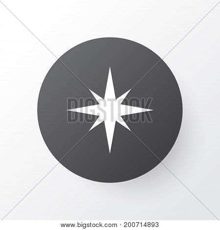 Premium Quality Isolated Direction  Element In Trendy Style.  Qiblah Icon Symbol.