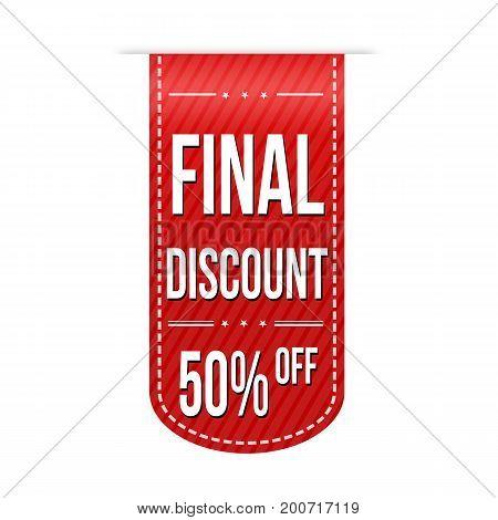 Final Discount Banner Design