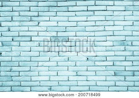 Blue Pattern Stone Wall Background. / Brick Wallpaper Abstract Paint.
