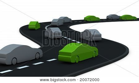 Some Cars At Zero Pollution