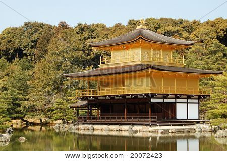 Kinkakuji golden temple