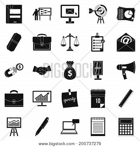 Gross product icons set. Simple set of 25 gross product vector icons for web isolated on white background