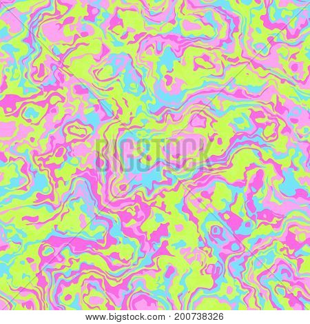 Retro vintage 80s or 90s fashion style abstract colorful swirl and stains pattern background. For textile fabric design, wrapping paper and website, advertising booklets about the sale, covers, posters, textile, leaflets design.Vector illustration.