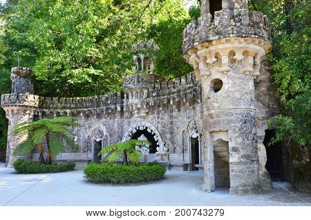 Park In Sintra, Portugal