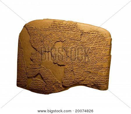 ancient cuneiform writing