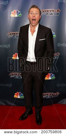 NEW YORK-SEP 9: Paul Zerdin attends the America's Got Talent Season 10 Semi-finals taping at Radio City Music Hall on on September 9, 2015 in New York City.