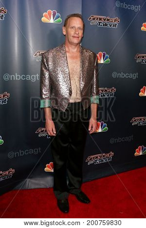 NEW YORK-SEP 9: The Professional Regurgitator attends the America's Got Talent Season 10 Semi-finals taping at Radio City Music Hall on on September 9, 2015 in New York City.