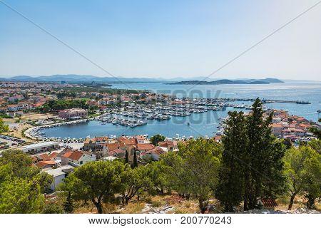 Tribunj Croatia Landscape Beautiful Ocean Vacation Destination European Tourism Mediterranean Daytim