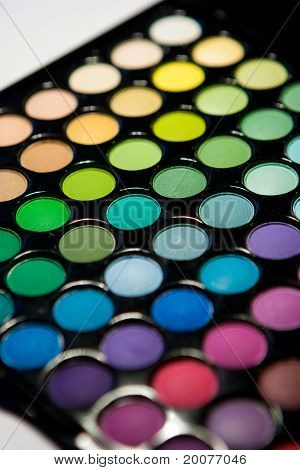 multicolor eyeshadow palette