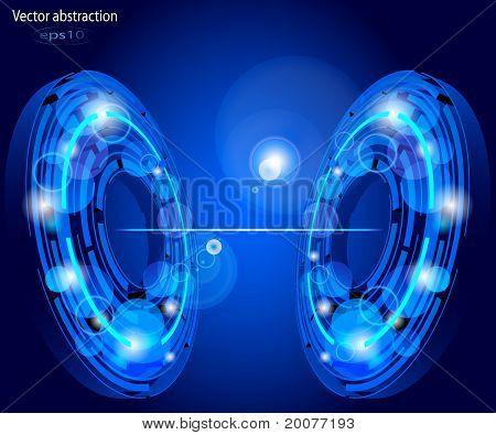 illustration of circles