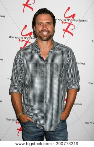 LOS ANGELES - AUG 19:  Joshua Morrow at the Young and Restless Fan Event 2017 at the Marriott Burbank Convention Center on August 19, 2017 in Burbank, CA