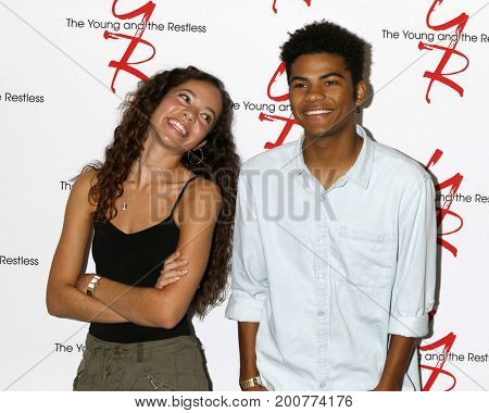 LOS ANGELES - AUG 19:  Lexi Stevenson, Noah Alexander Gerry at the Young and Restless Fan Event 2017 at the Marriott Burbank Convention Center on August 19, 2017 in Burbank, CA