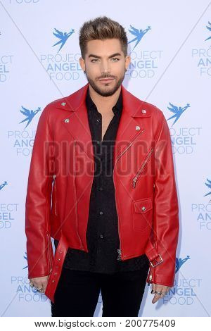 LOS ANGELES - AUG 19:  Adam Lambert at the Project Angelfood 2017 Angel Awards Gala at the Project Angelfood on August 19, 2017 in Los Angeles, CA
