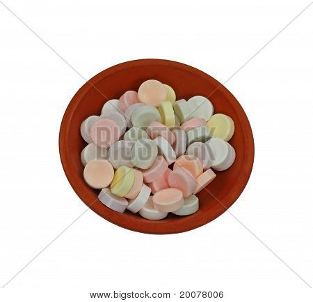 Small Pastel Hard Candies