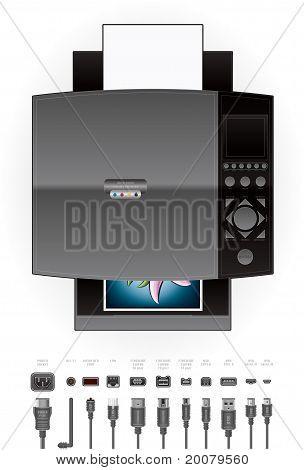Office Inkjet Printer/photocopier