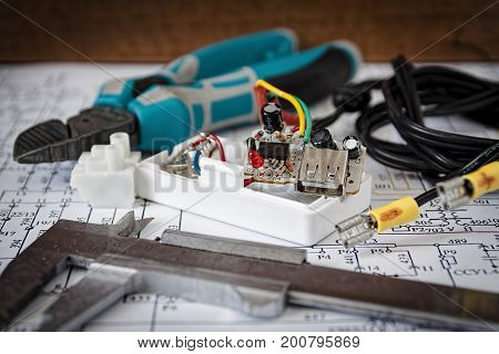 Trained to repair electrical circuit boards at home
