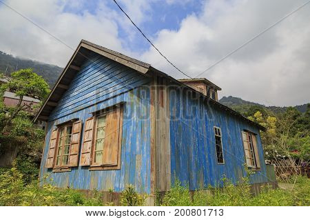 The Famous Jimmy Blue Wooden House