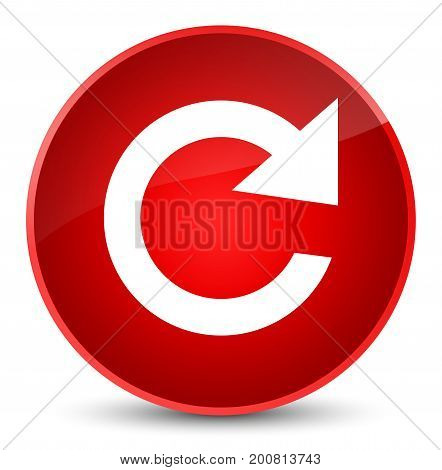 Reply Rotate Icon Elegant Red Round Button