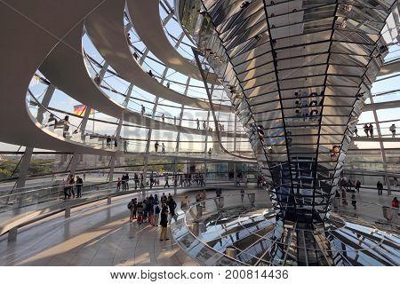 Reichstag Interior