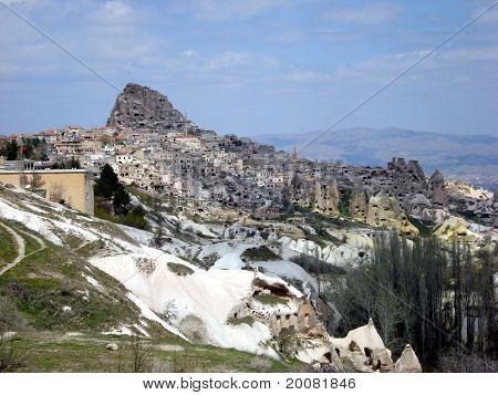 Uçhisar in Cappadocia