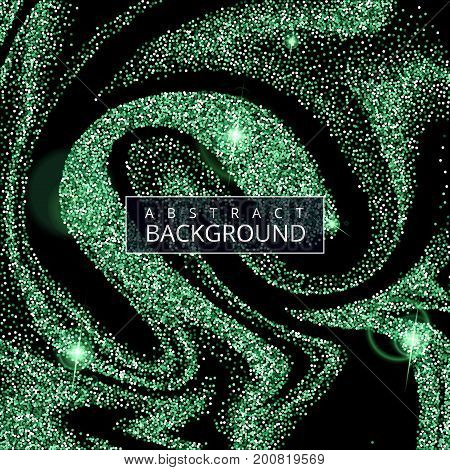 Vector illustration of luxury festive background with shiny glitters