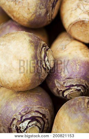 Close Up Of Turnips