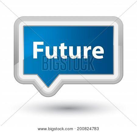 Future Prime Blue Banner Button