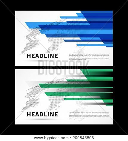 Abstract cover with colorful world map vector illustration. Title pages with decorative elements and world map for presentation book cover flyer graphic design. Wide screen format creative concept.