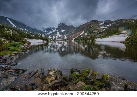 Lake Isabelle Indian Peaks Wilderness Colorado Landscape