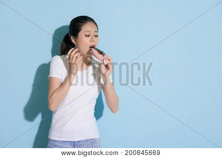 Beautiful Young Woman Having Sensitive Tooth
