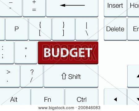 Budget Brown Keyboard Button