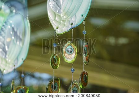 Peacock's Fan Style Wind Chimes