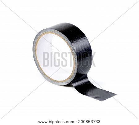 duct tape roll isolated on white background