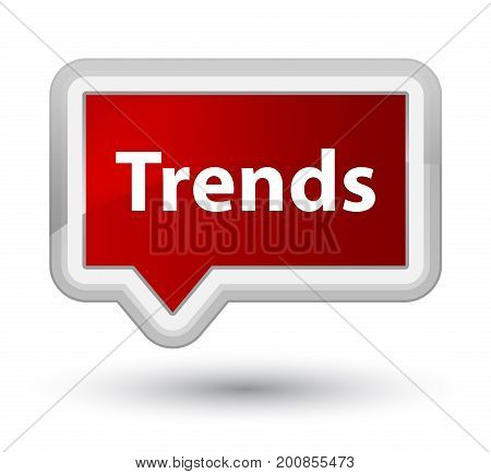 Trends Prime Red Banner Button