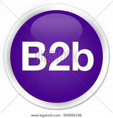 B2B Premium Purple Round Button
