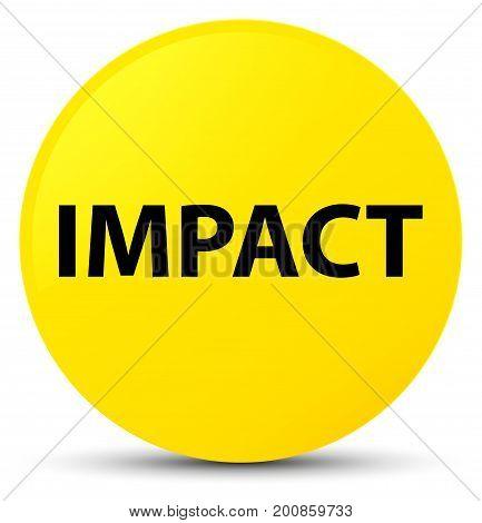 Impact Yellow Round Button