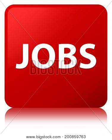 Jobs Red Square Button