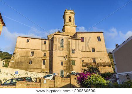 San Giacomo Apostolo of Rio Nell'Elba village Elba Island Tuscany Italy.