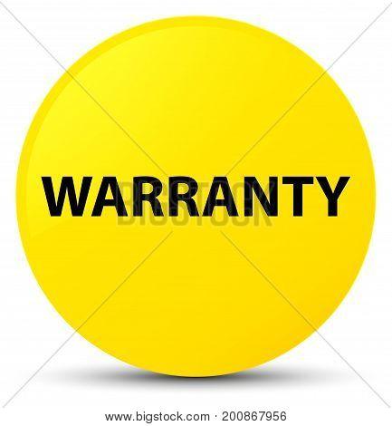 Warranty Yellow Round Button