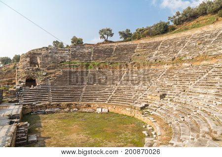 Theatre Of Nysa Ancient City